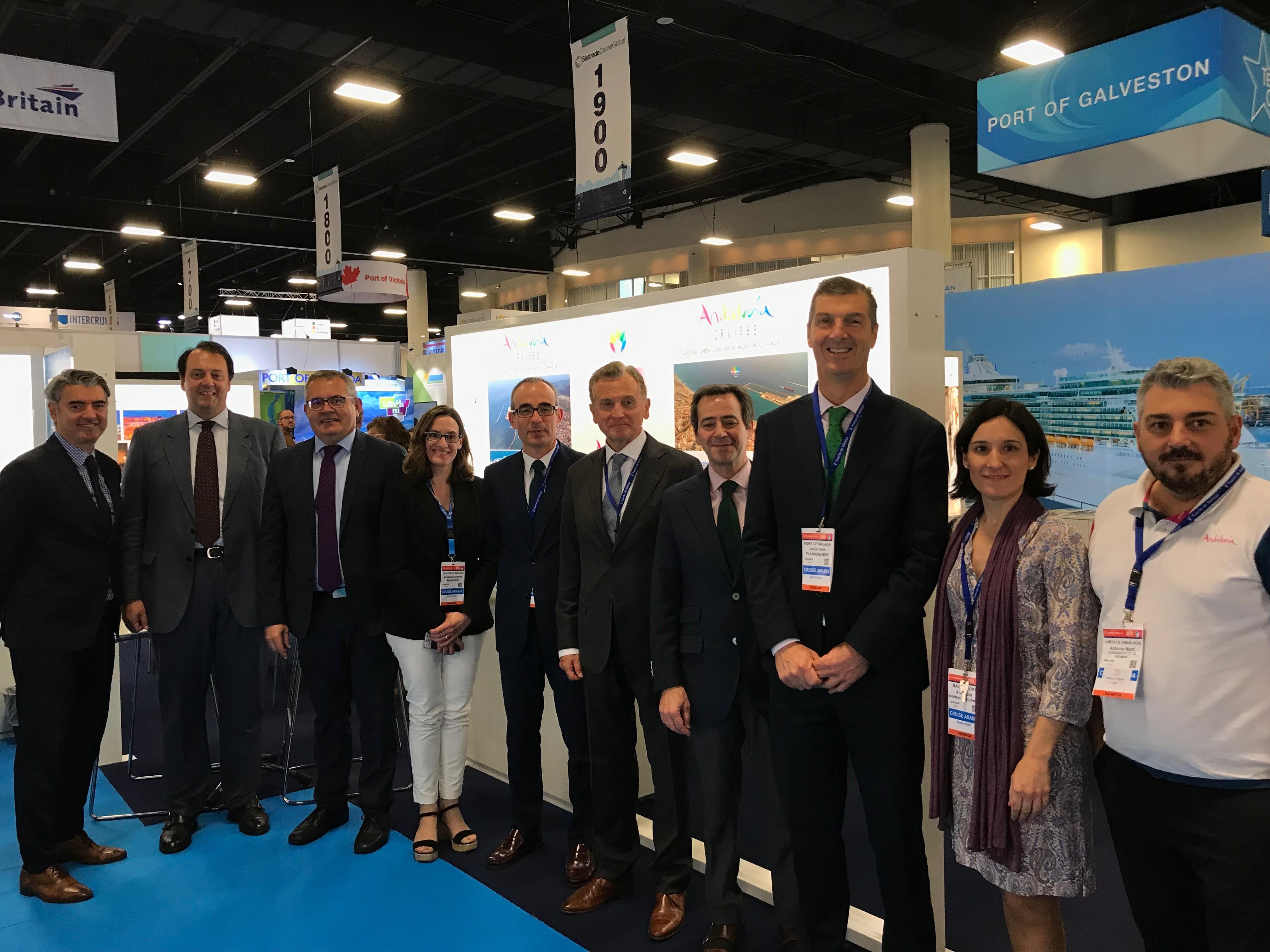 Málaga cierra su presencia en Seatrade Cruise Global 2018 en Fort Lauderdale