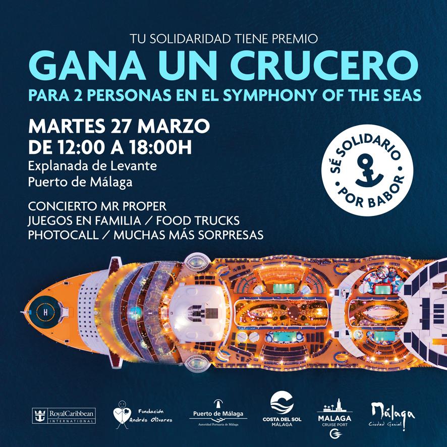 ¡Ya tenemos número ganador del sorteo solidario en el Puerto de Málaga!