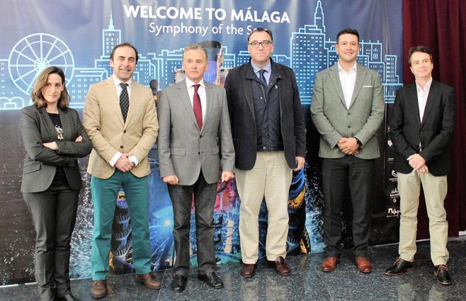 Málaga acoge la presentación mundial del 'Symphony of the Seas'