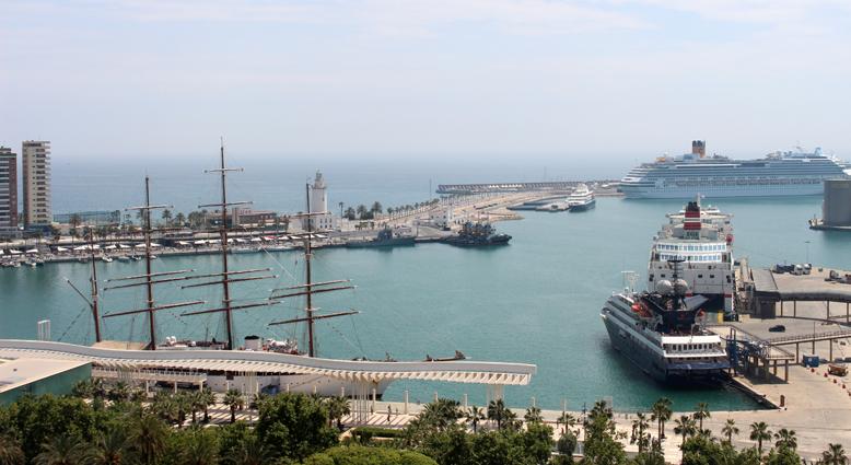 El Puerto de Málaga crece un 7,2% entre los meses de enero y octubre de 2018