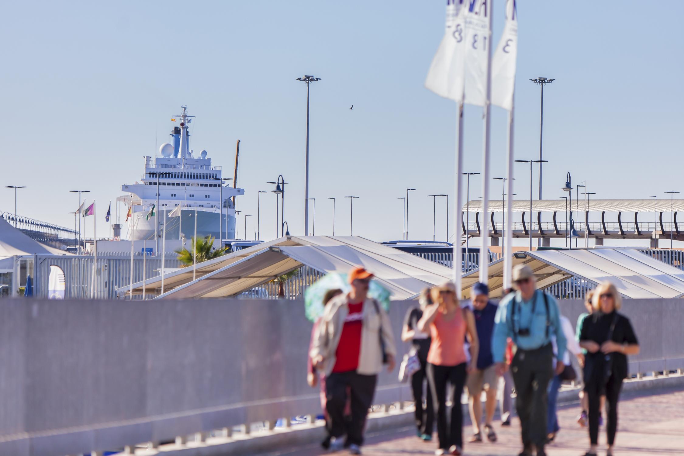 Málaga promociona la oferta del puerto y el destino en Seatrade Cruise Global