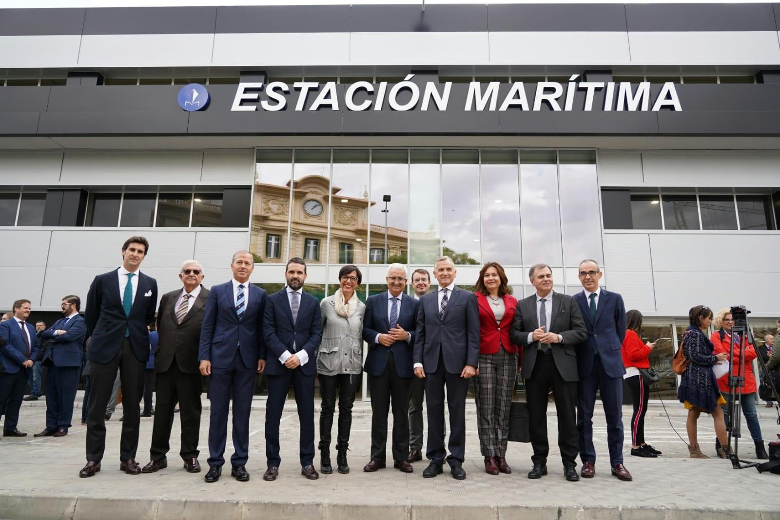 Eurogate Group Terminals inaugura las reformas de la Estación Marítima de Málaga con tráficos récord