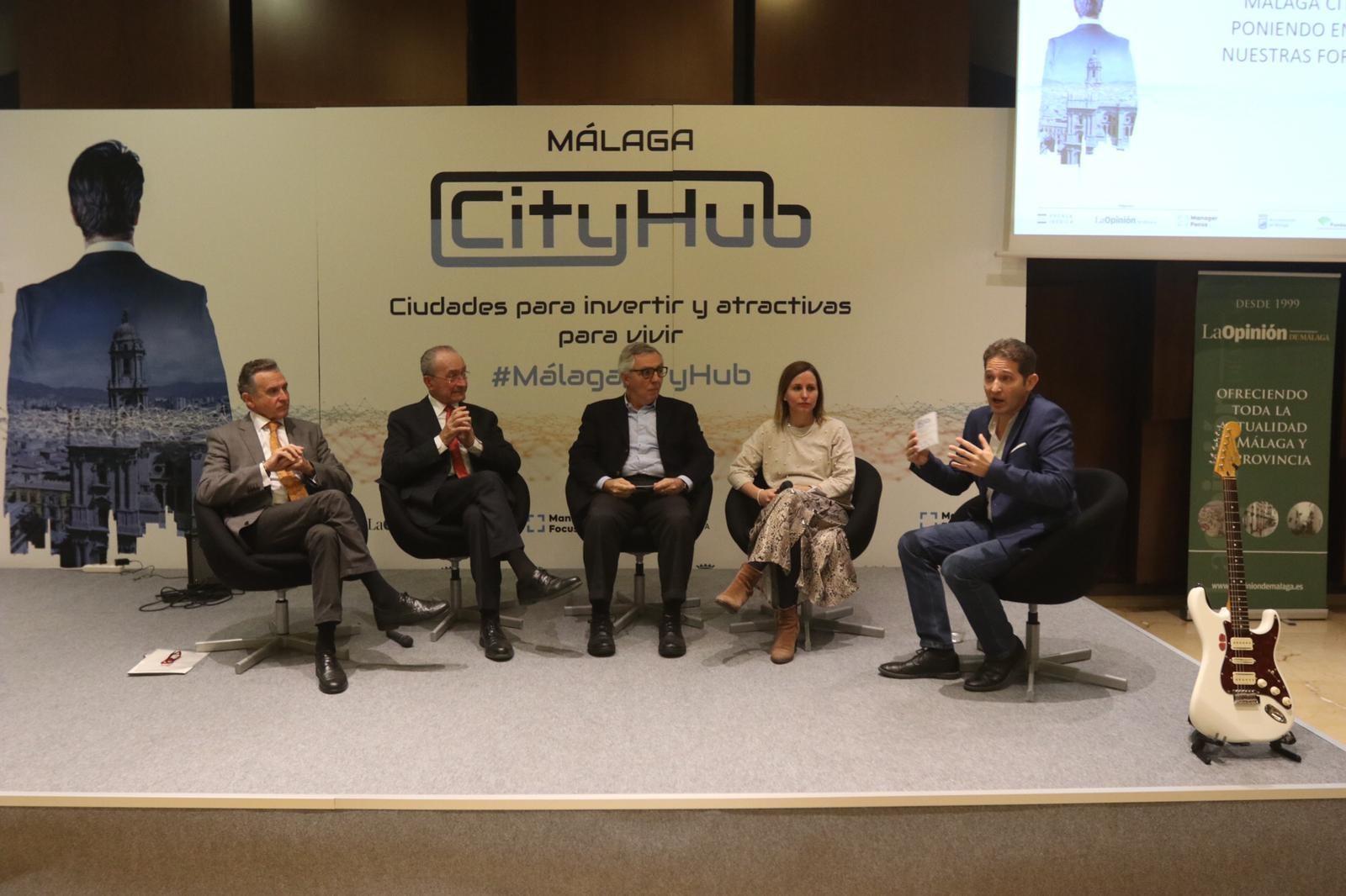 El Puerto participa en el Foro 'Málaga City Hub'