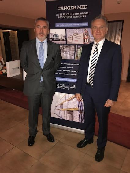 El Puerto de Málaga participa en un encuentro anual con empresas exportadoras de Marruecos organizado por Tánger Med