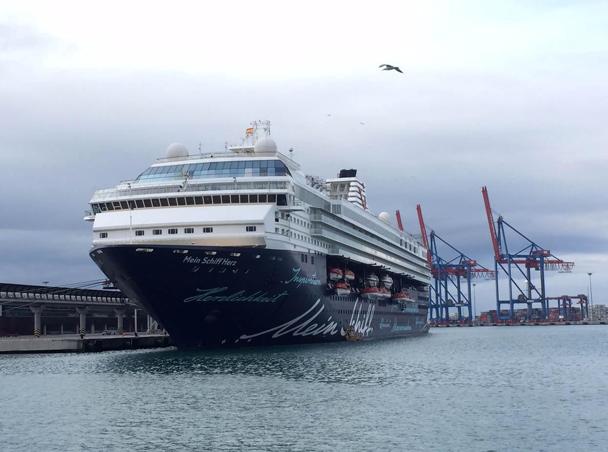TUI Cruises elige Málaga como puerto base para 2020