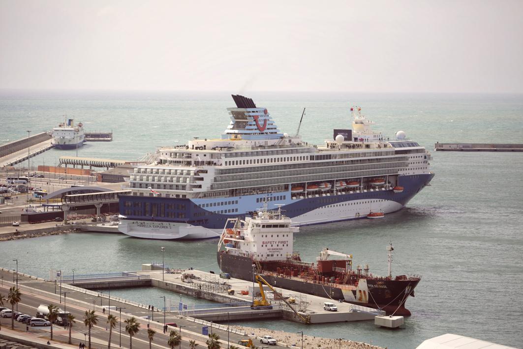 La compañía británica Marella Cruises bautiza su nuevo buque 'Marella Explorer 2' en el Puerto de Málaga