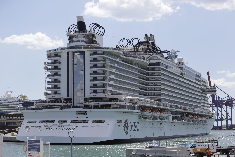 Los pasajeros de MSC Cruceros aportarán en Málaga alrededor de 3,5 millones de euros en 2019