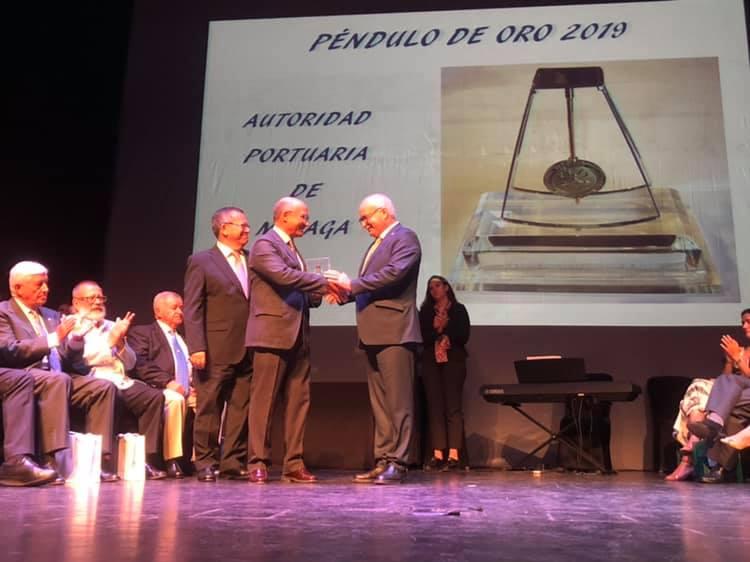 COPITIMA entrega el Péndulo de Oro 2019 a la Autoridad Portuaria