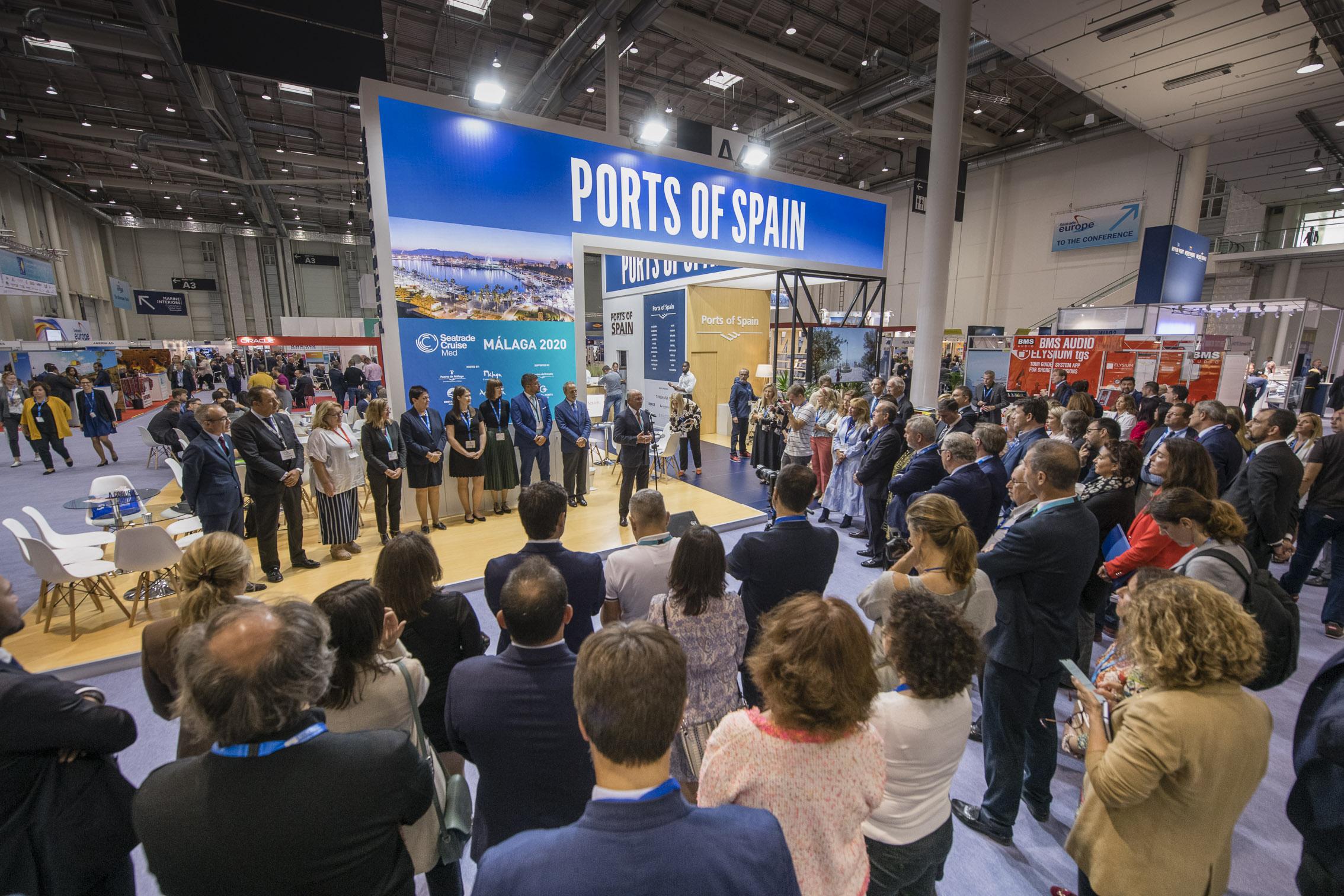 Málaga presenta las novedades de 2020 en Seatrade Europe