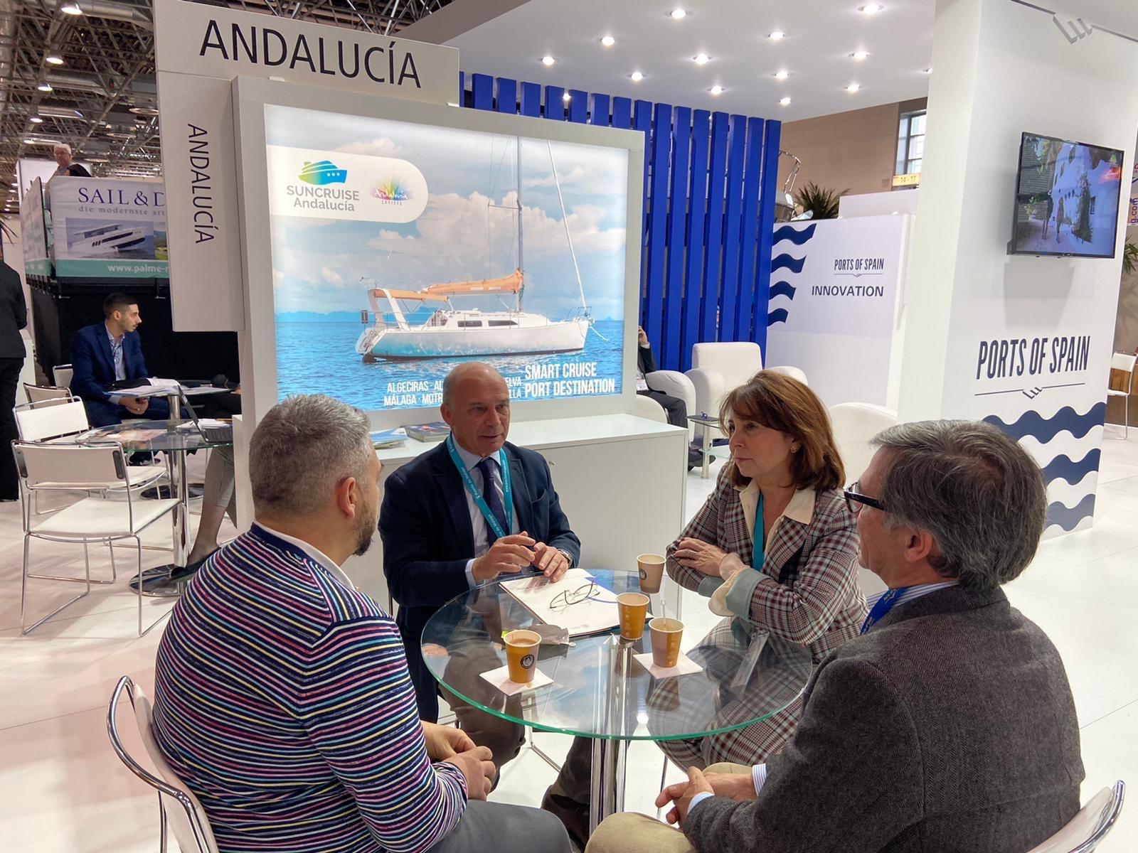 El Puerto de Málaga se abre al mercado náutico deportivo en Boot Düsseldorf