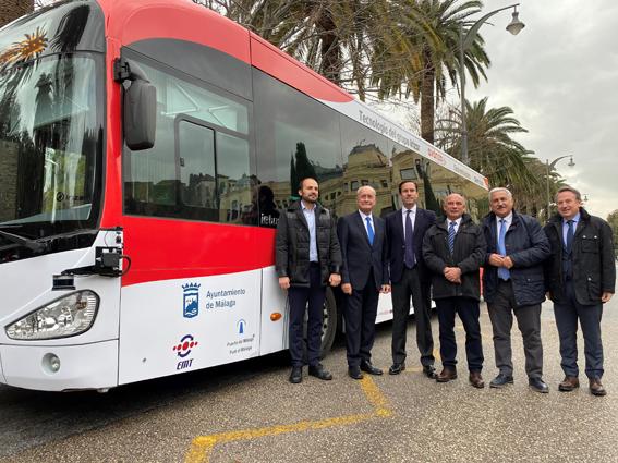 Un autobús de conducción autónoma discurrirá entre la Terminal de Cruceros de Levante y el Centro de la capital