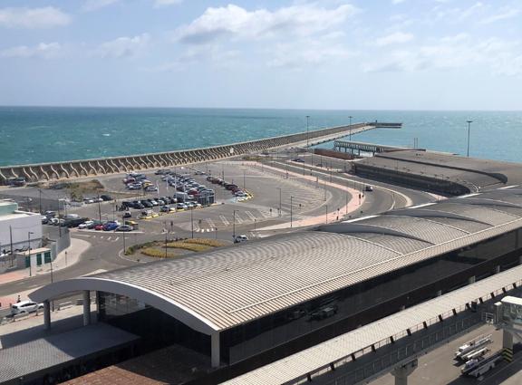 El Puerto de Málaga presenta el documento de modificación puntual relativo al proyecto de hotel en la plataforma del dique de Levante a la Gerencia de Urbanismo