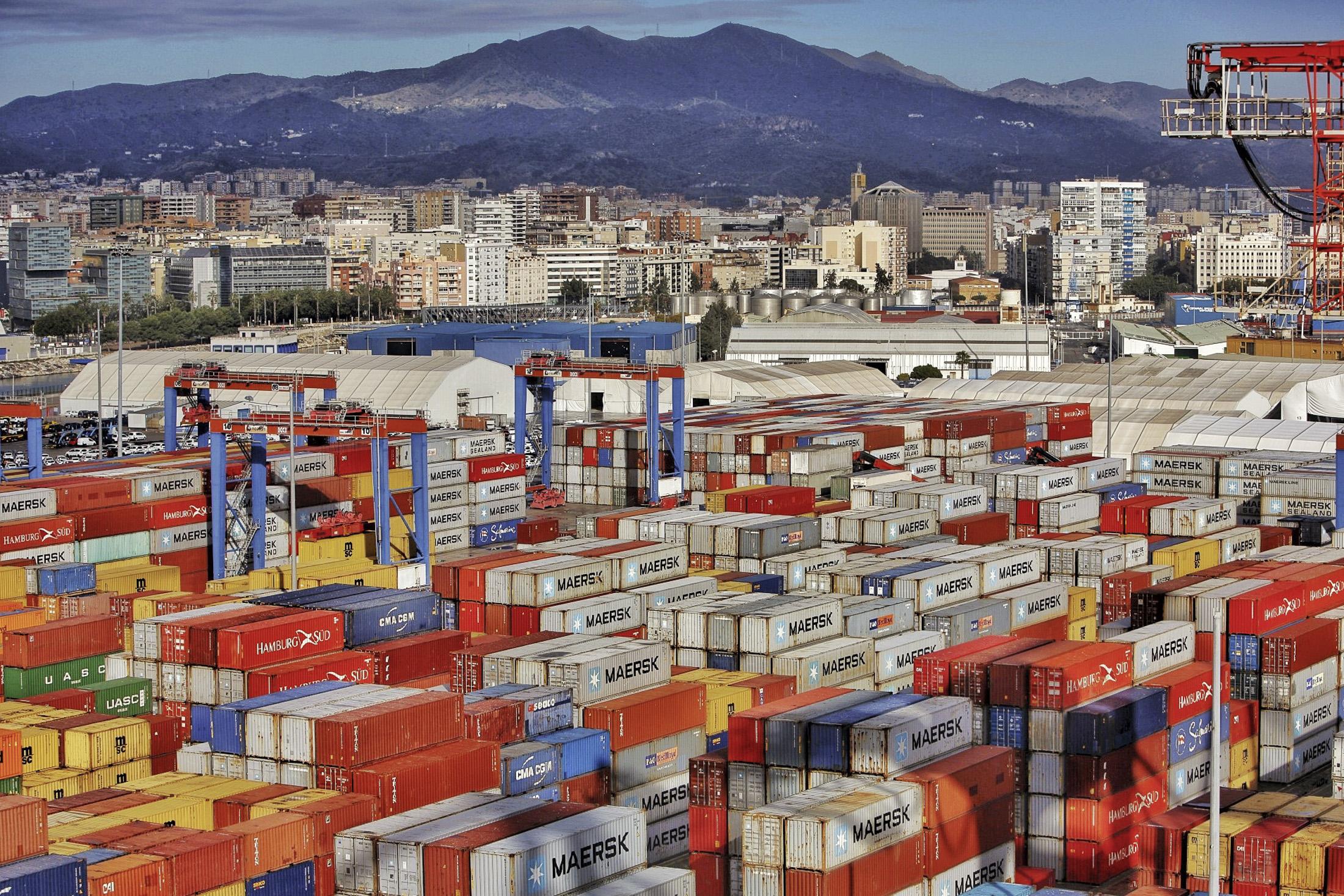 El tráfico de mercancías se ha incrementado un 14,7% en el Puerto de Málaga durante el primer trimestre de 2021