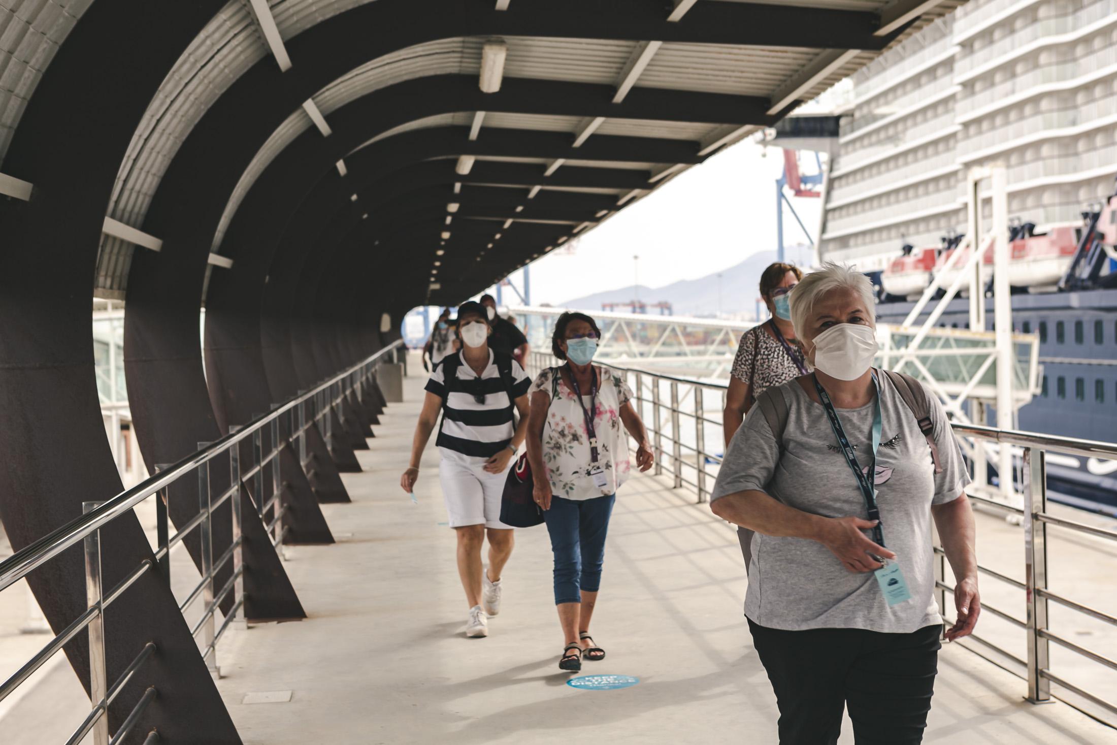 6 buques de crucero visitarán el Puerto de Málaga durante el mes de agosto