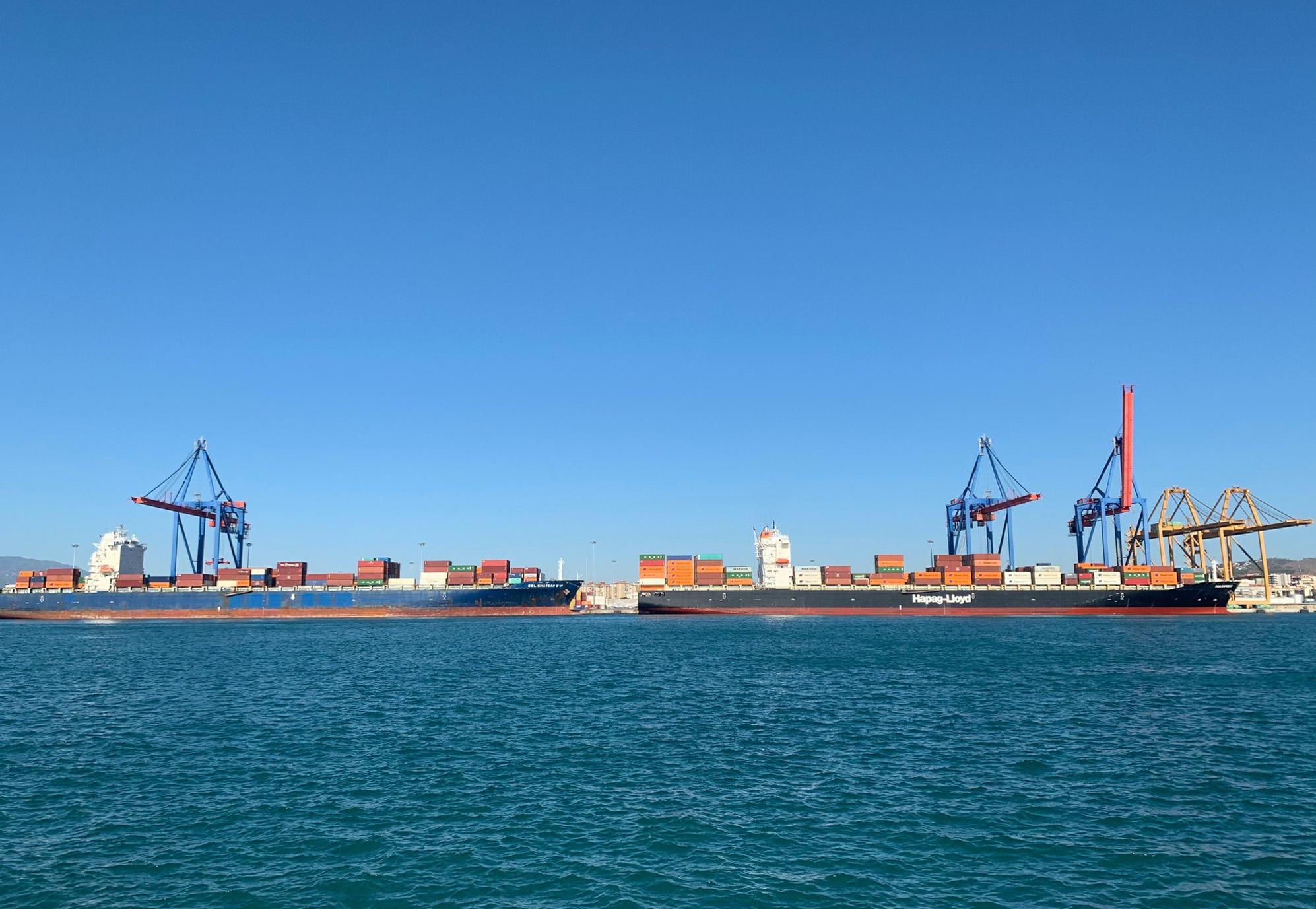 7 escalas de buques portacontenedores y 10.500 TEUS esta semana
